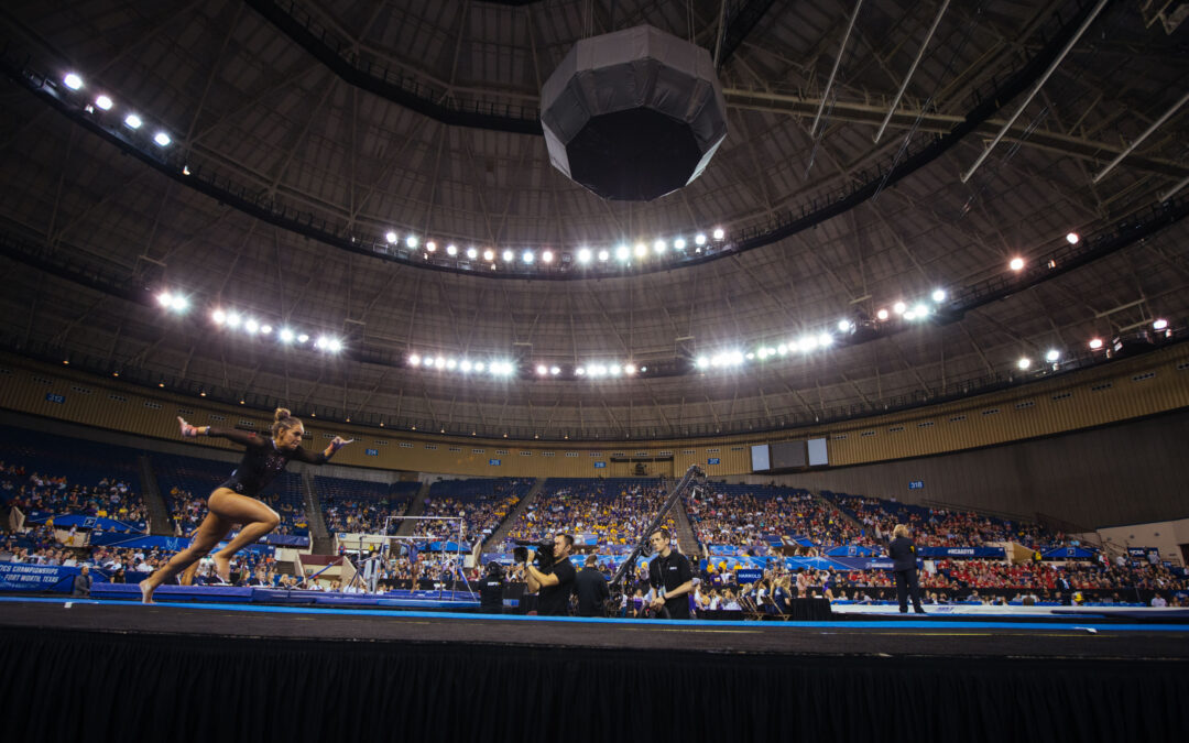 Knight Eady lands NCAA men's and women's basketball and women's gymnastics bids for 2023-2026